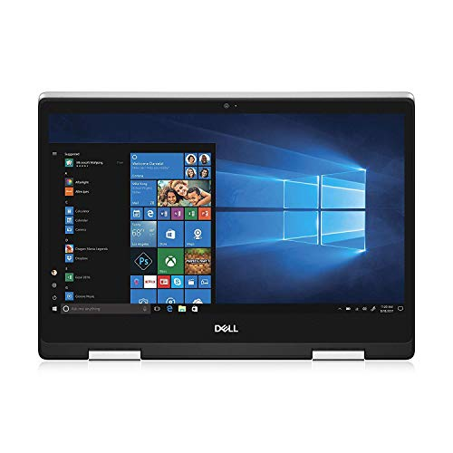2020 Dell Inspiron 14 5482 14 Inch FHD 2-in-1 Touchscreen Laptop (8th Gen Intel Quad Core i7-8565U, 8GB RAM, 256GB SSD, Backlit Keyboard, Windows 10) + NexiGo Wireless Mouse Bundle (Renewed)