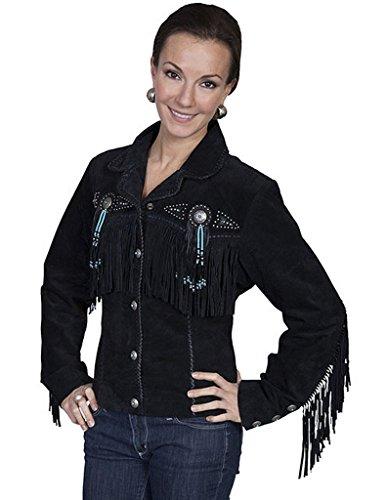 Studded Fringe Jacket - 5