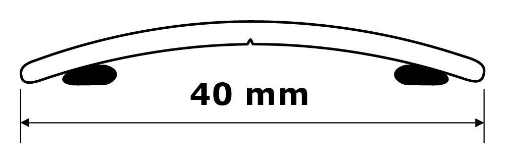 Ubergangsprofil Anpassungsprofil Ausgleichsprofil 40 Mm