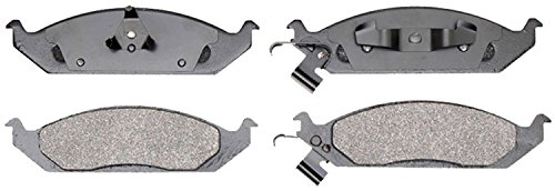 Dodge Brake Pad Sensor (ACDelco 14D650M Advantage Semi-Metallic Front Disc Brake Pad Set with Wear)