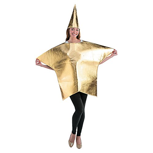 Adult's Gold Star Costume]()