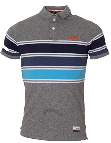 Superdry solide super schlank fit sweat polo