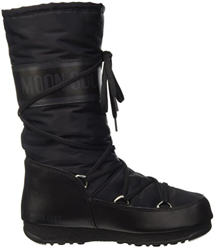 De Para Zapatillas Boot Deporte Mujer e Exterior Negro Moon W Soft Shade 4STYY6zq