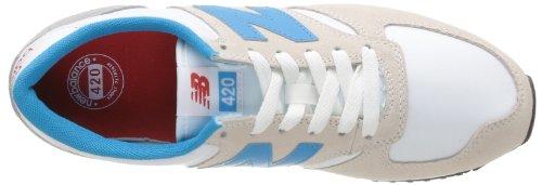 New Balance U420 D 14e, Zuecos para Hombre Varios colores (Mehrfarbig (SNWB WHITE/BLUE 3))