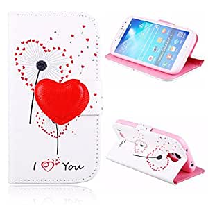 DD 20150511 Color Of Love Pattern Full Body Case for Samsung Galaxy S4 I9500