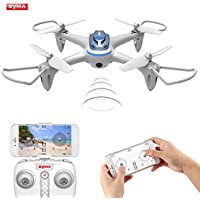 FPV RC Drone OCDAY SYMA X15W 6Axis Gyro Remote Control Quadcopter Wifi Rear-time Camera Drone with Headless Mode, Altitude Hode, App Control for Kids & Drone Beginners