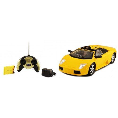 Electric 1:14 Lamborghini Murcielago Roadster Super Sport Full Function RTR RC Car (Yellow) Remote Control