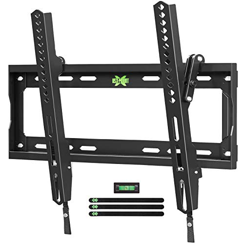 "USX Mount TV Wall Mount Tilting Bracket for Most 26-55"" Flat Screen LED, LCD, OLED, 4K TVs-TV Mount with VESA Up to 400x400mm-Weight Capacity Up to 99lbs, Low Profile, Space Saving for 16"" Stud"