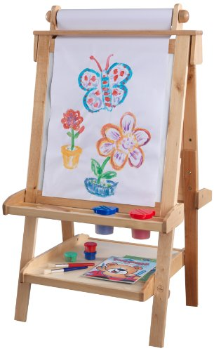 KidKraft Deluxe Wood Easel-Natural by KidKraft