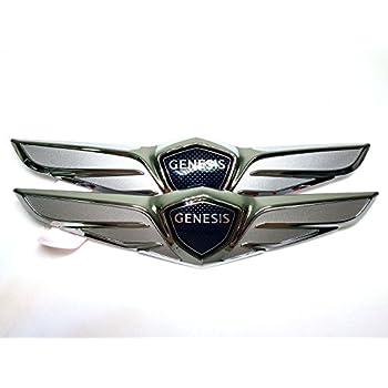 Hyundai Genesis Genuine OEM Rear Trunk Wing Logo LED lamp light Emblem For 2015