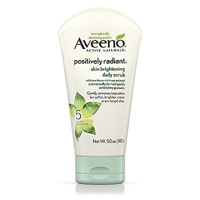 Aveeno Positively Radiant Skin Brightening Exfoliating Daily Scrub