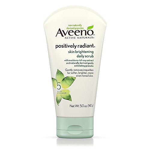Aveeno Positively Radiant Skin Brightening Exfoliating Daily Scrub