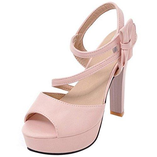 VulusValas Sandales Suave Talons Femmes Pink rwxaSrTvq
