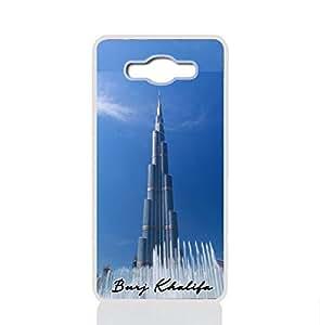 Samsung Galaxy J2 Prime Hard Case with Burj Khalifa Design 149