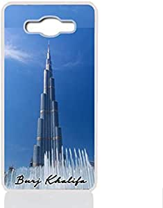 Samsung Galaxy J3 Case with Burj Khalifa Design 185