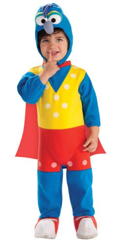 Muppets Gonzo Ez-On Romper Costume, Multicolor, Newborn