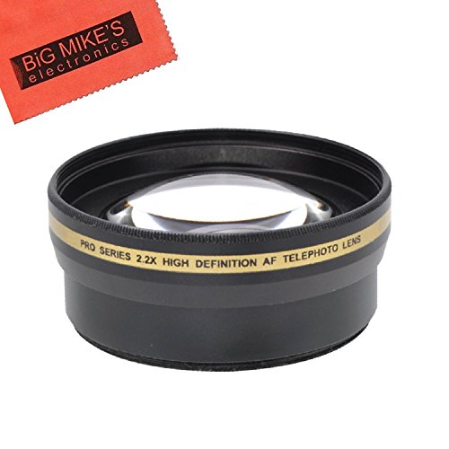 67mm 2X Telephoto Lens for Nikon CoolPix P900 Digital Camera