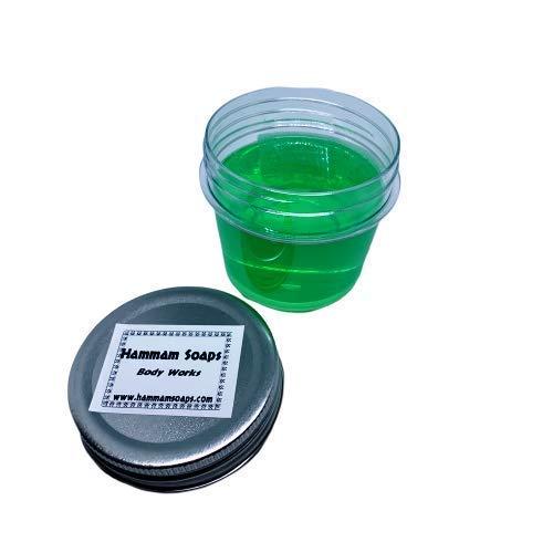 Hammam Soaps DeLuxe Series Glycerine Shaving Soap in Bowl Tea Tree (Traditional Series Soap)