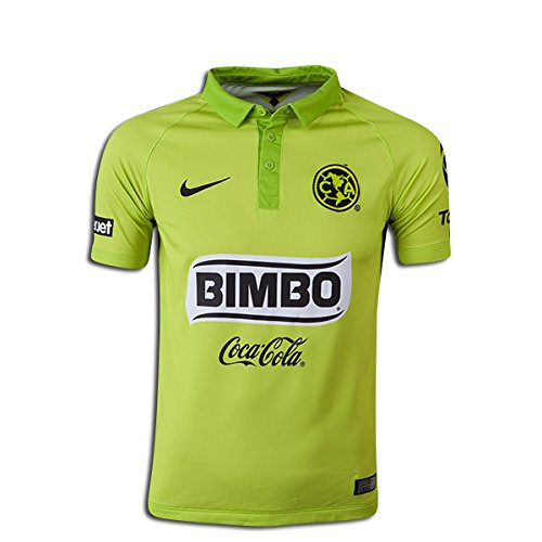 Nike 2014/15 Club América Stadium Third Kids' Soccer Jersey (Youth Medium) (Club America Green Jersey compare prices)