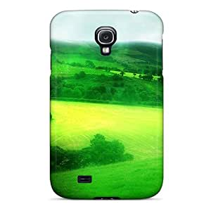 Premium Galaxy S4 Case - Protective Skin - High Quality For Green Scenery