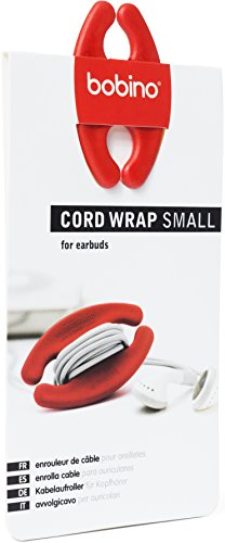 Bobino Cord Wrap - Small - Red - Stylish Cable and Wire Management / Organizer
