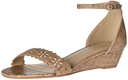 Open Toe Low Wedge (CL by Chinese Laundry Women's Mila Wedge Pump Sandal, Natural Cork, 7.5 M US)