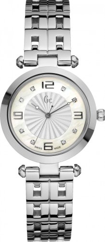 Guess B1-Class Women's Stainless Steel Case Steel Bracelet Watch X17106L1S