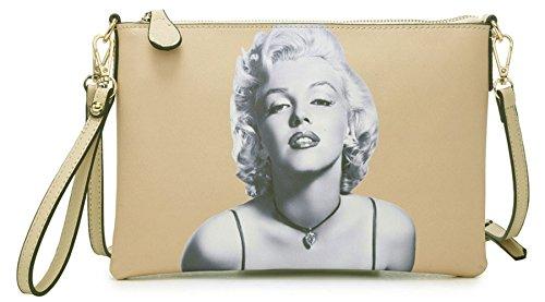 Big Handbag Shop - Cartera de mano mujer, color, talla