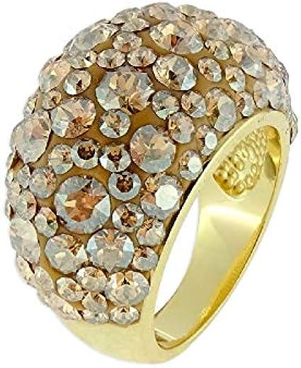 LISKA LSW1102AN-D Anillo Plata y Cristales Swarovski® Mujer