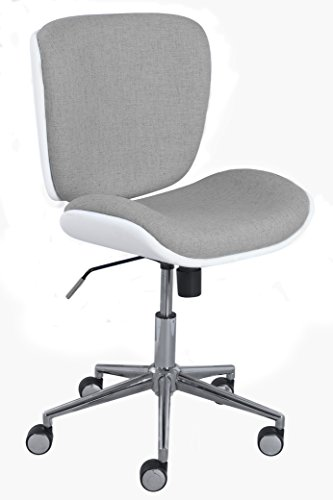 Serta Style Haylie Office Chair, Heather/White by Serta