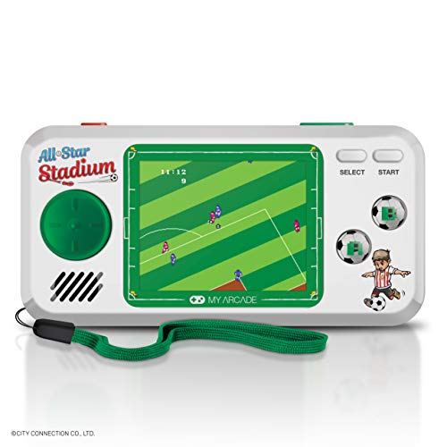 My Arcade All-Star Stadium Pocket Player - Collectible Handheld Game Console with 7 Games