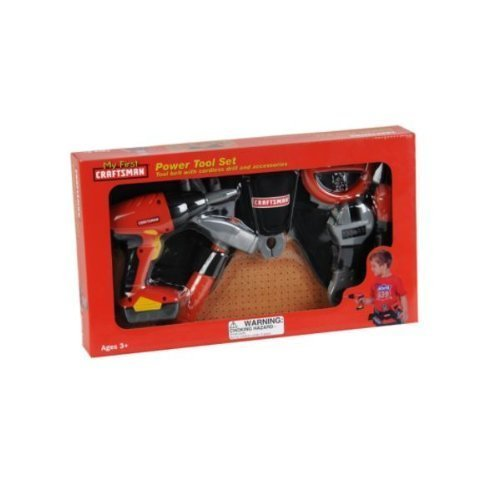 First Craftsman Toy - My First Craftsman Power Tool Set with Tool Belt