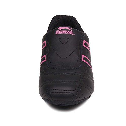 Ciliegia Scarpe Donna Nero Da Slazenger Sportive Guerriero Sneakers Calzature rosso qwXngv