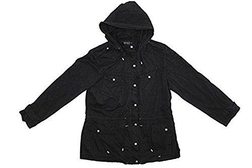 Buffalo David Bitton Anorak Jacket for Women (Small, Black)