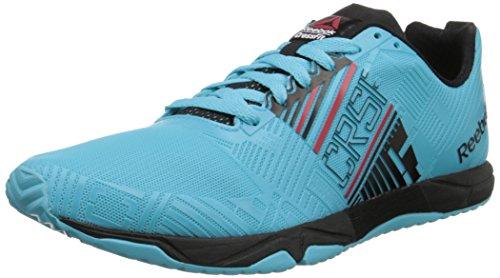 Reebok Crossfit Sprint 2.0 Mens Training Shoe 10 Neon Blue-Black-Red