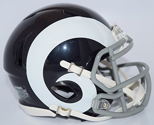Riddell LOS ANGELES RAMS NFL Revolution SPEED Mini Football Helmet COLOR RUSH by Riddell