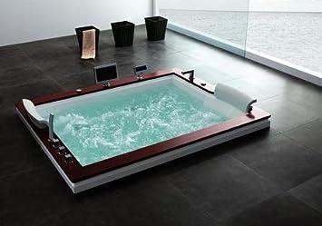 Wasserverbrauch Badewanne diana 666 mit wassererhitzer whirlpool zwei person moderne