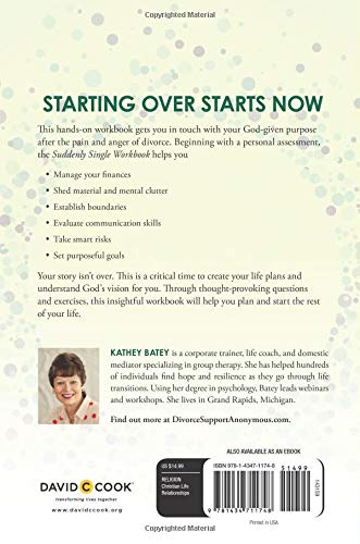 Suddenly Single Workbook: Building Your Future after Divorce: Kathey