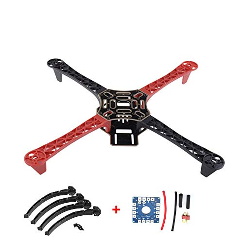 QuTess FlameWheel KIT 450 Frame F450 Drone with Camera for RC MK MWC 4 Axis RC Multicopter Quadcopter Heli Multi-Rotor with Land Gear