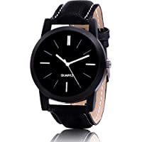 FENTIQ Analog Black Dial Men's & Boy's Watch Leather Strap