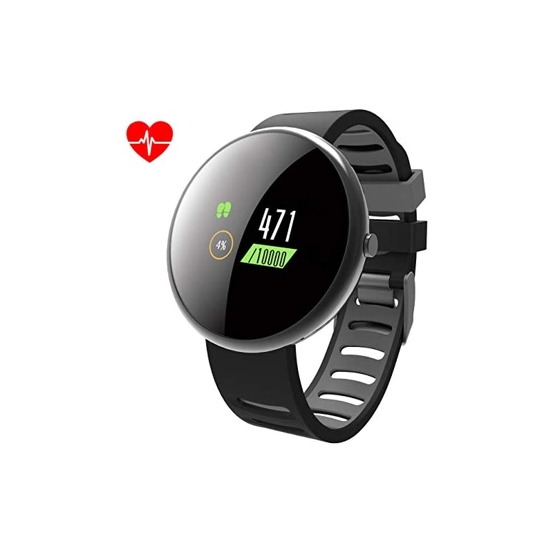 ROADTEC Smart Watches for Men Women Fitn