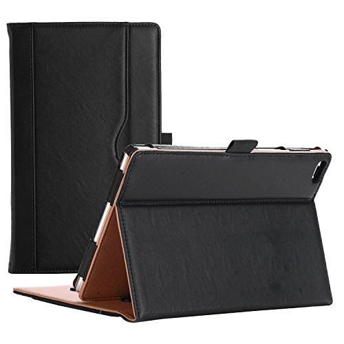 ProCase Lenovo Tab 4 8 Case - Stand Folio Case Protective Cover for Lenovo Tab 4 8 Tablet 2017 Release ZA2B0009US -Black