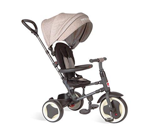 Triciclo Smart Premium, Dobrável, Bandeirante, Preto