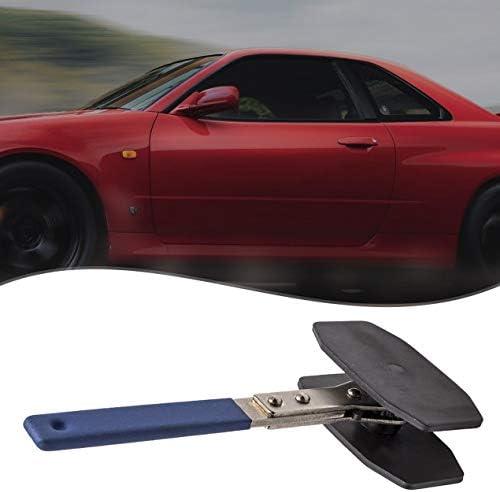 車のキャリパーピストン調整ツール、ラチェット構造ディスクブレーキ調整レンチブレーキキャリパープレスツール-ブラック