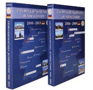 Set Lindner Sammelalbum S1011 S1012 Für 2 Euromünzen Gedenkmünzen