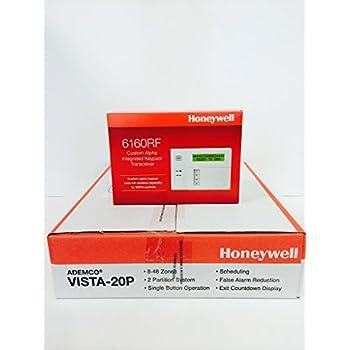 Image of Honeywell Vista 20P and 6160RF Keypad Kit Package Home Improvements