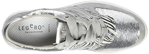 0 Grau 4 Amato Alluminio Damen Sneaker Legero fxRqntSwt