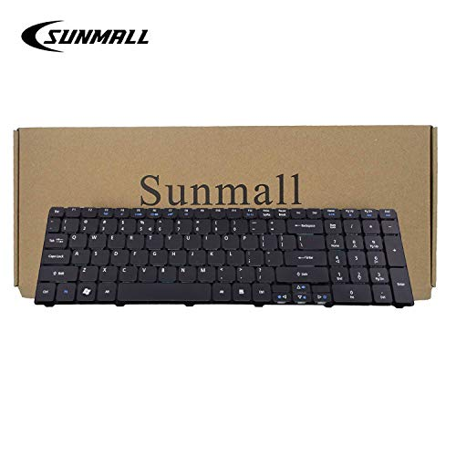 SUNMALL Laptop Keyboard Replacement for Acer Aspire 5253 5336 5551 5552 5733 5733z 5733z-4851 5742 5750 7551 5810 Series US Layout (6 Months Warranty) ... ()