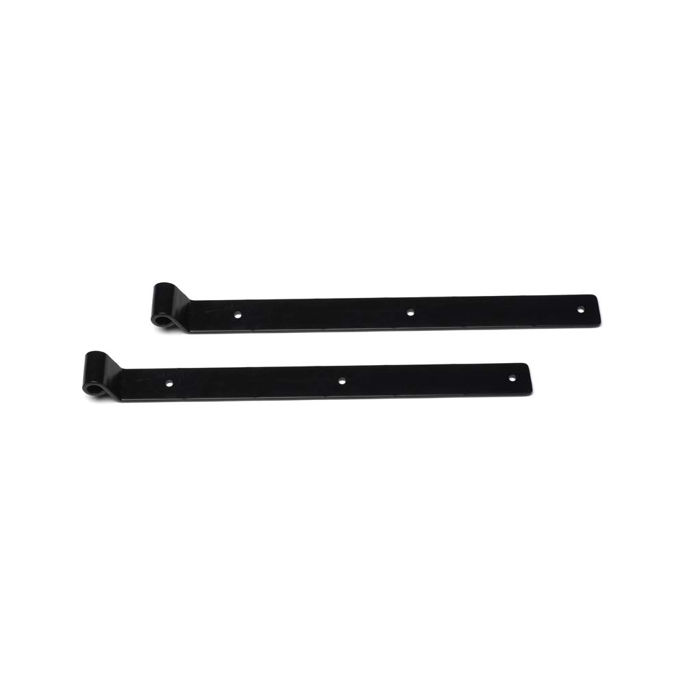 Timberlane Genuine 16'' Heavy Duty Storm Strap, 1'' Offset, Black Powder Coated Steel by Timberlane