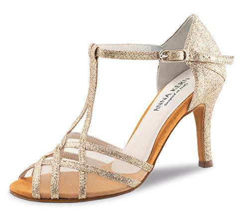 Zapatos Gold 870 Baile Mujer Kern Anna De 75 Sparkle qTI8zSwF